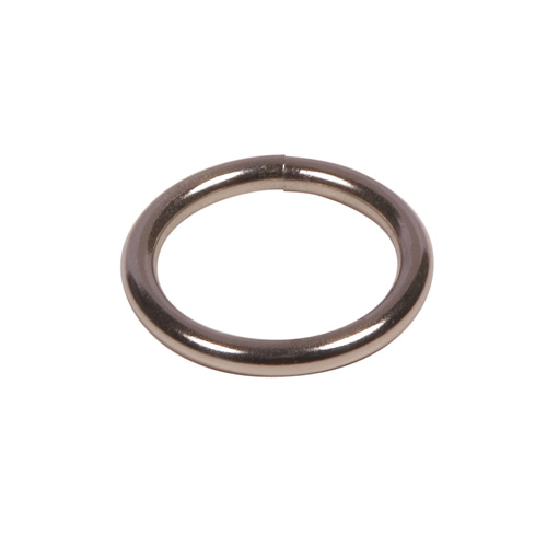 Round Rings (nickel plated)