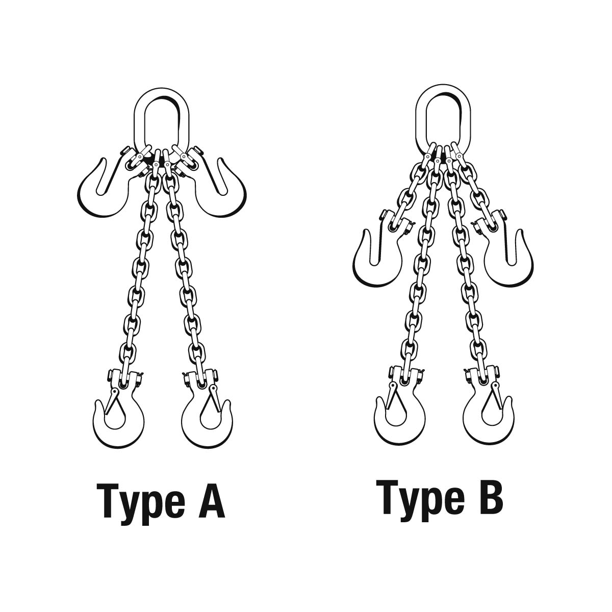 Chain Slings — Adjustables - G80